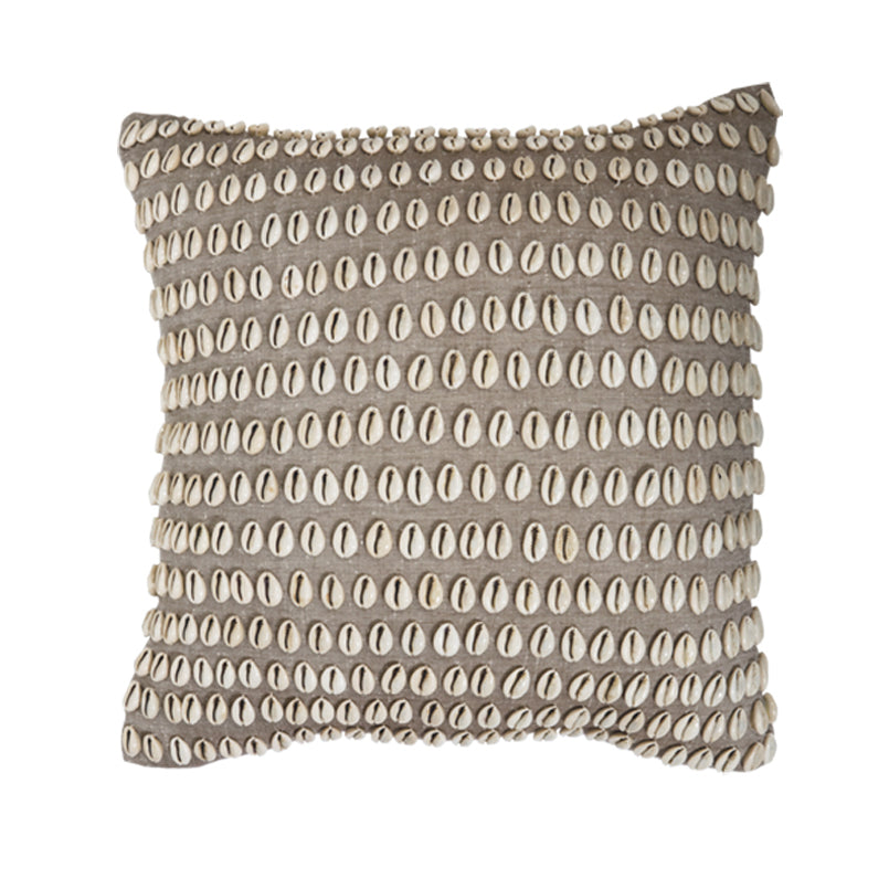 Kauri Shell Cushion, Natural