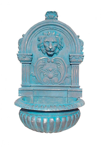 Large Lion Wall Fountain