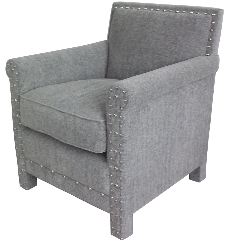 Merlin Arm Chair Grey