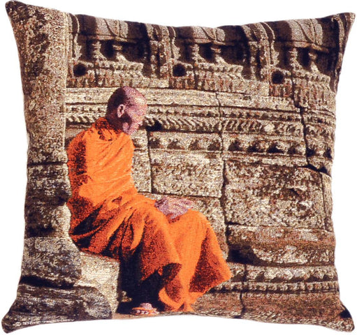 Monks Cushion Sitting Monk