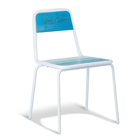 Halifax White Frame Chair