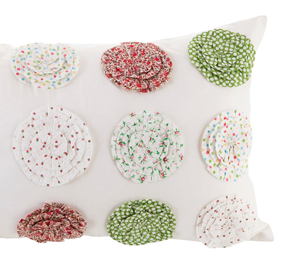 Polly Spiral Cushion