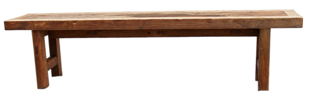 Recycled Wood Bench 250cm