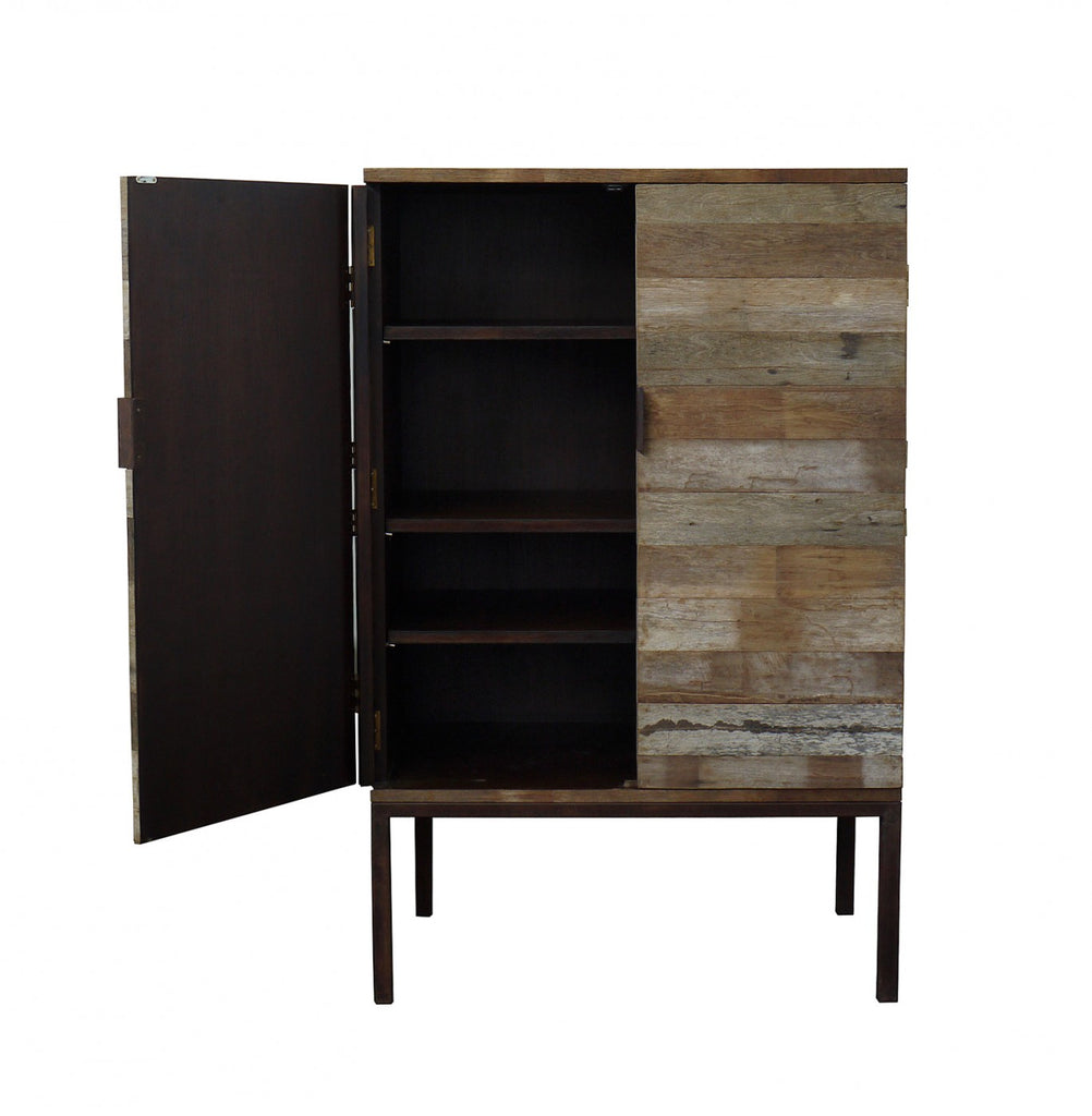 Recycled Wood Cabinet/ TV Unit