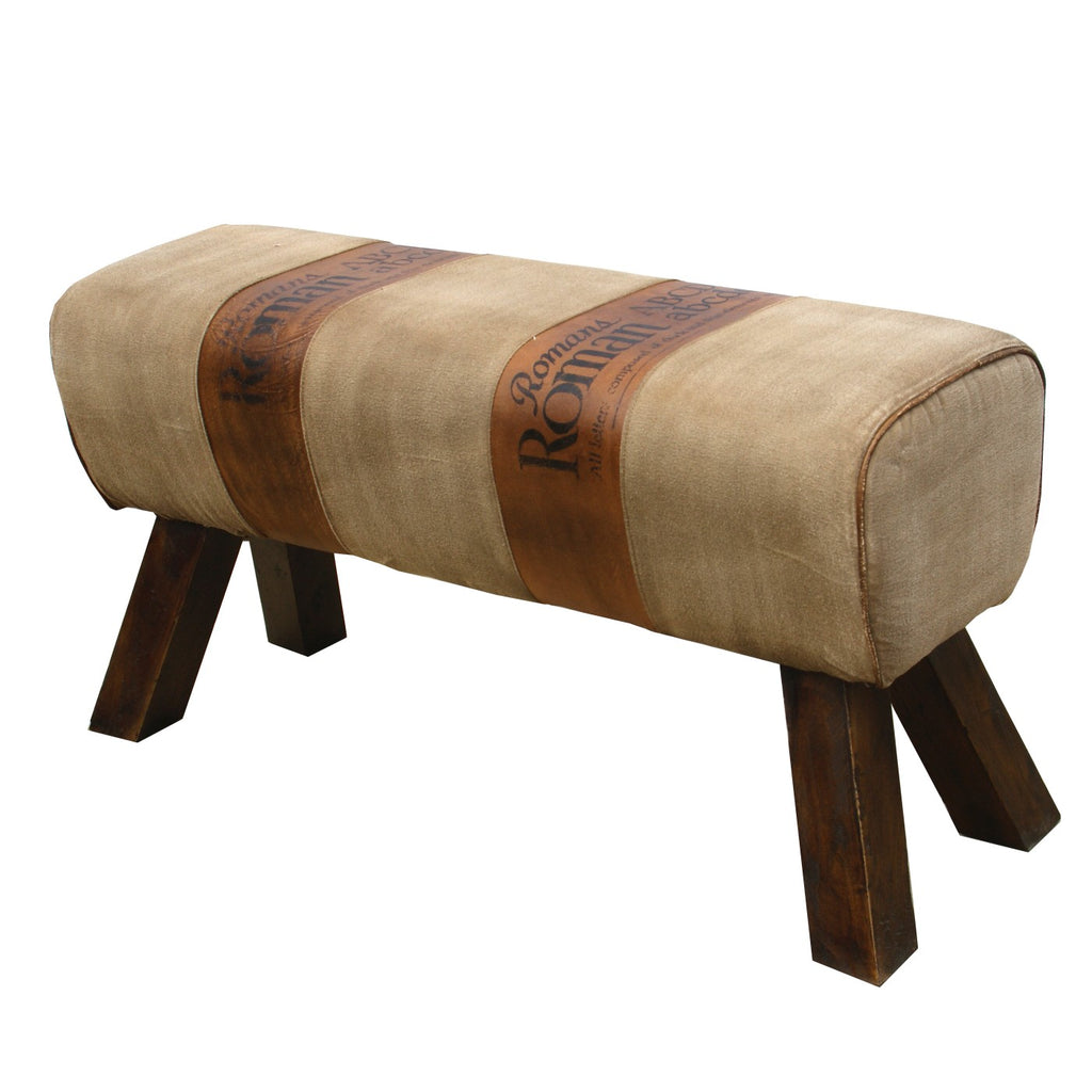 Roman Script Bench for Two