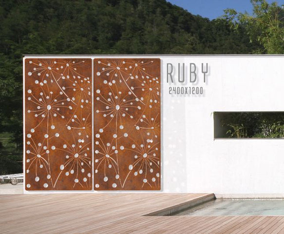 Ruby Wall Panel/Screen