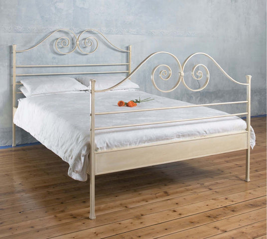 Scroll Bed, Queen Size