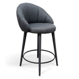Netherby Bar Stool Slate Grey