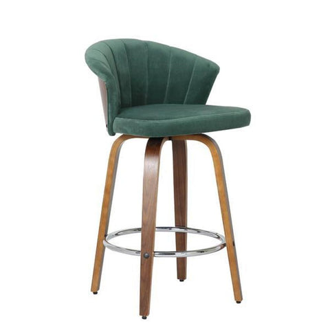 Halifax Blue Frame Stool