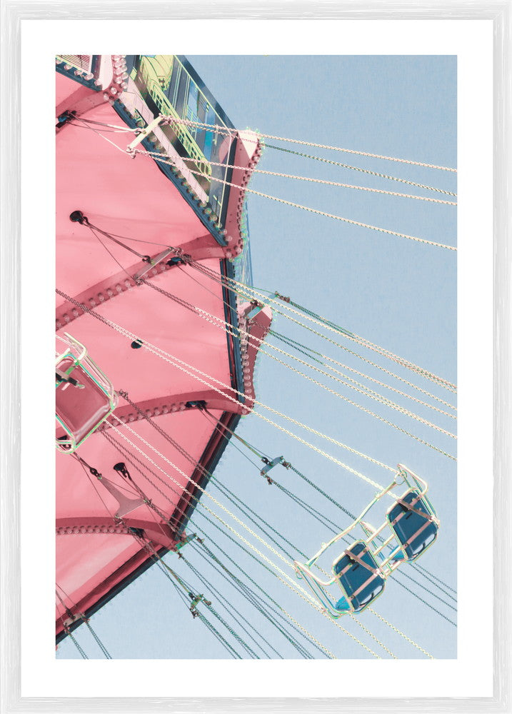 Merry Go Round Photographic Framed Print