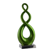 Entwined Sculpture Lime