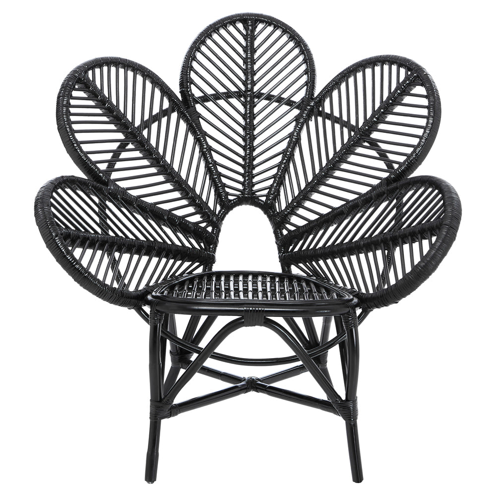 Petal Occasional Chair Black
