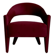 Kansas Chair Maroon