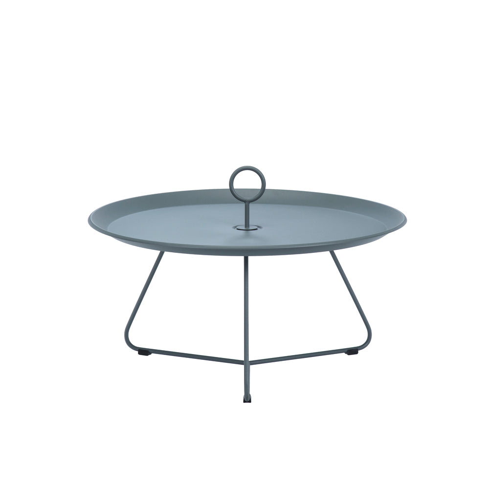 Eyelet Tray Table Dark Grey Large