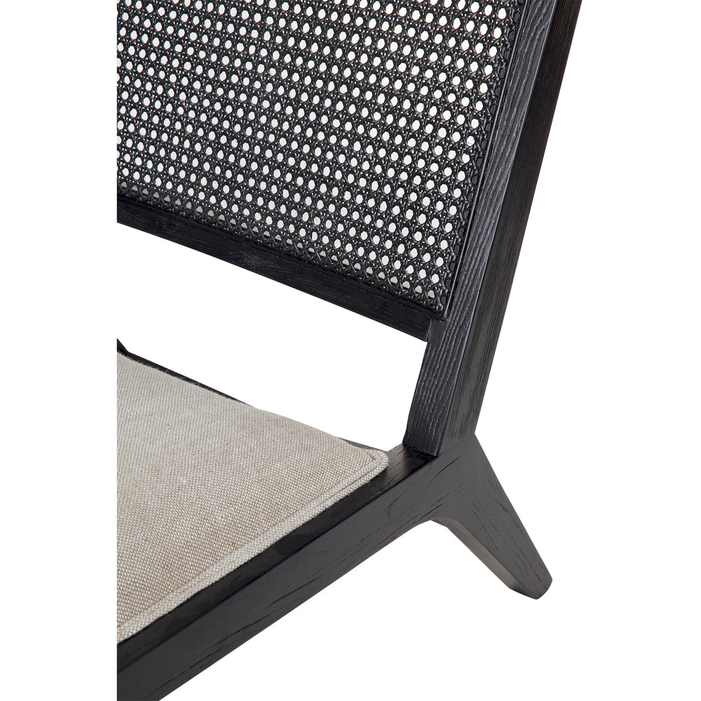 Cuba Rattan Occasional Chair Black