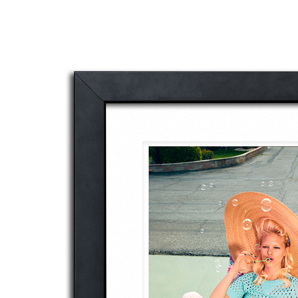 Bubbles Framed Photographic Print