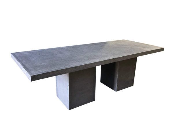 Square Edge Outdoor Rectangular Dining Table