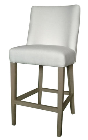 Ophelia Bar Chair White