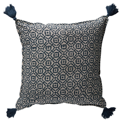 Balveer Glaze Navy Cushion