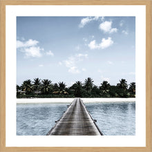Peaceful Photographic Print with Frame