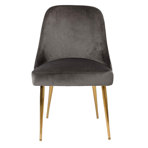 Coco Dining Chair Charcoal