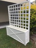 Sag Harbour Planter Box with Trellis