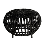 Ohau Side Table/Stool Black