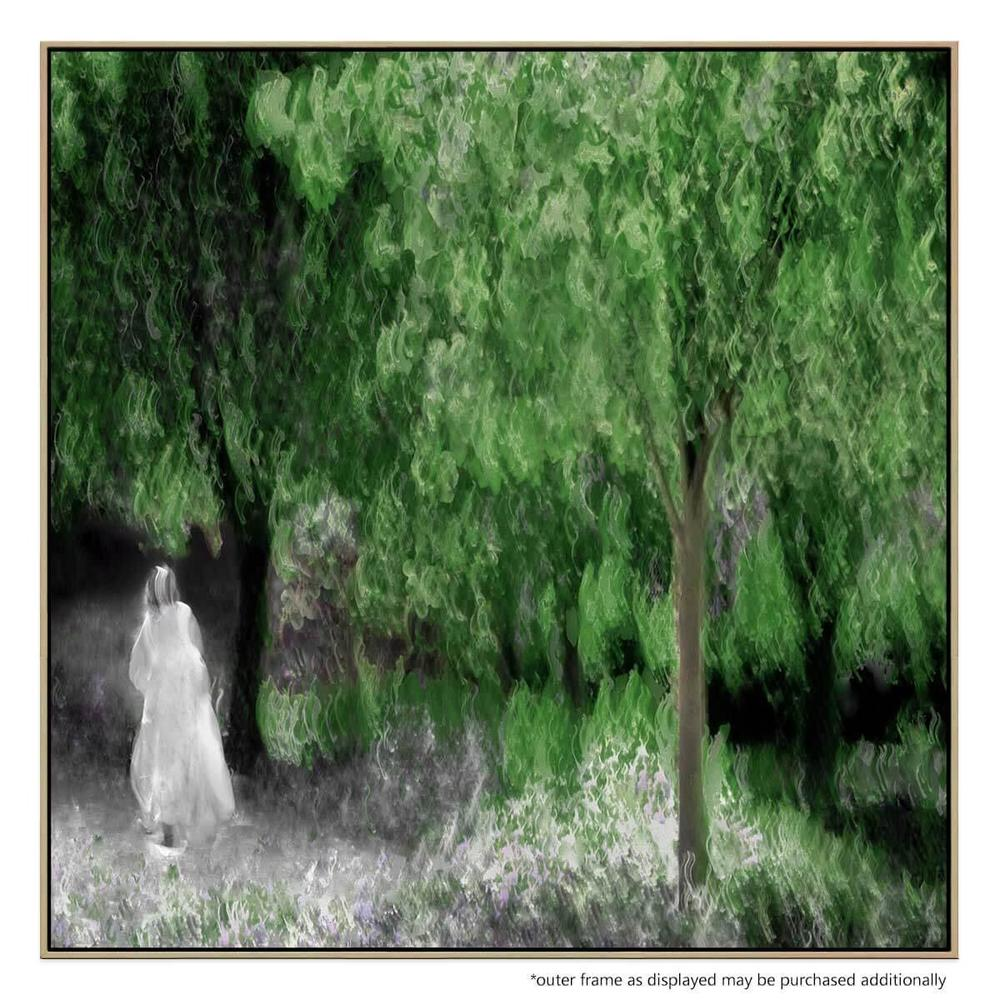 Monet's Dream Canvas Print with Floating Frame