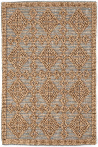 Alpine Diamond Slate Hand Knotted Rug