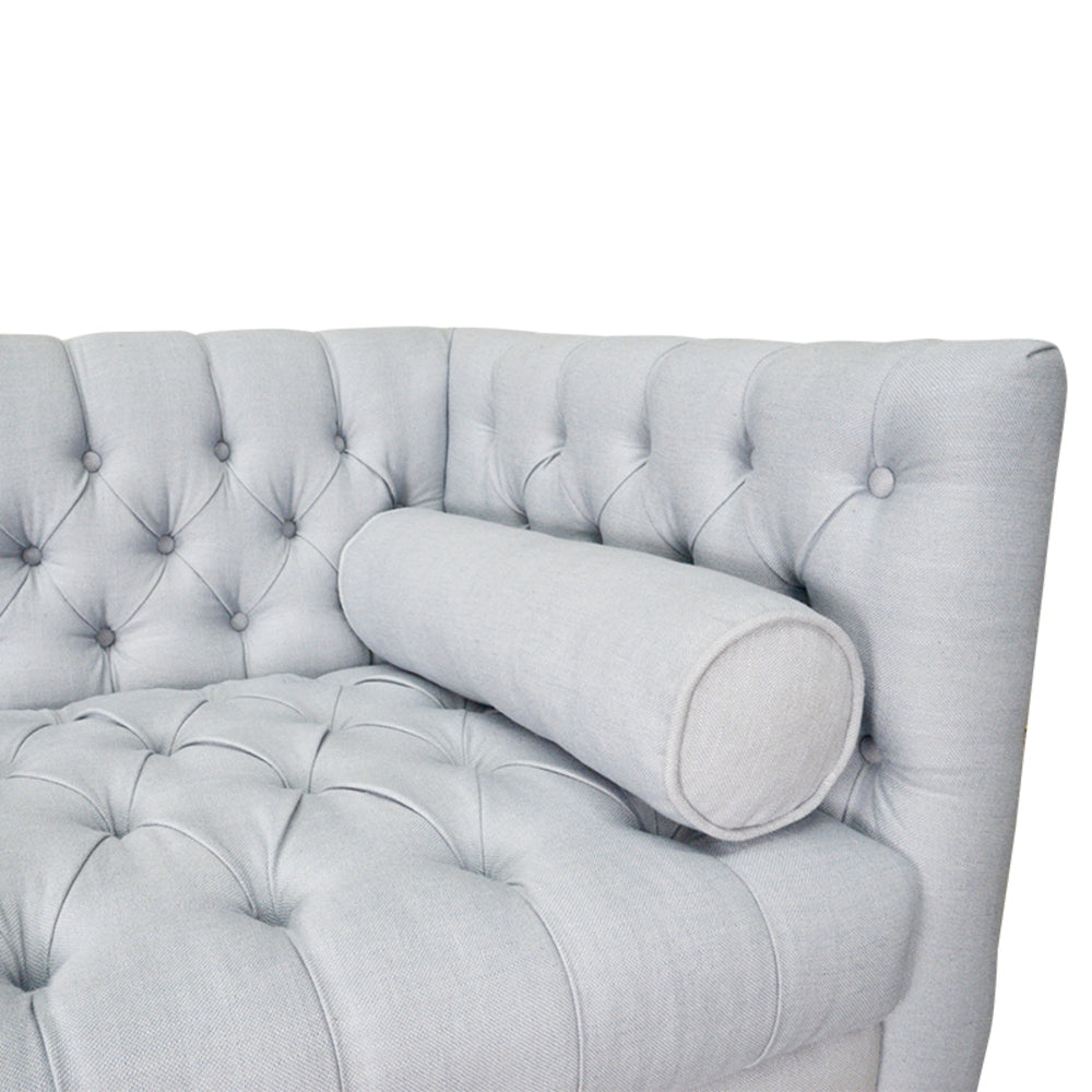 Guildwood 3 Seat Chesterfield Sofa Grey