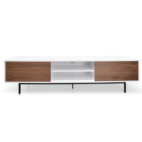Milo Entertainment Unit Walnut