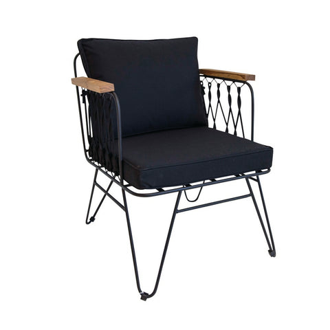 Halmstad Outdoor Casual Chair Anthracite