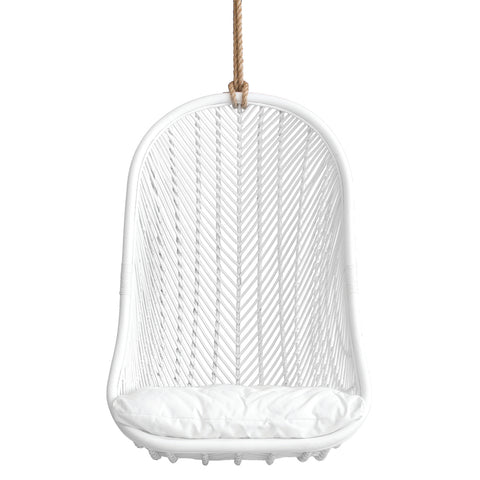 Makeba Hanging Chair White