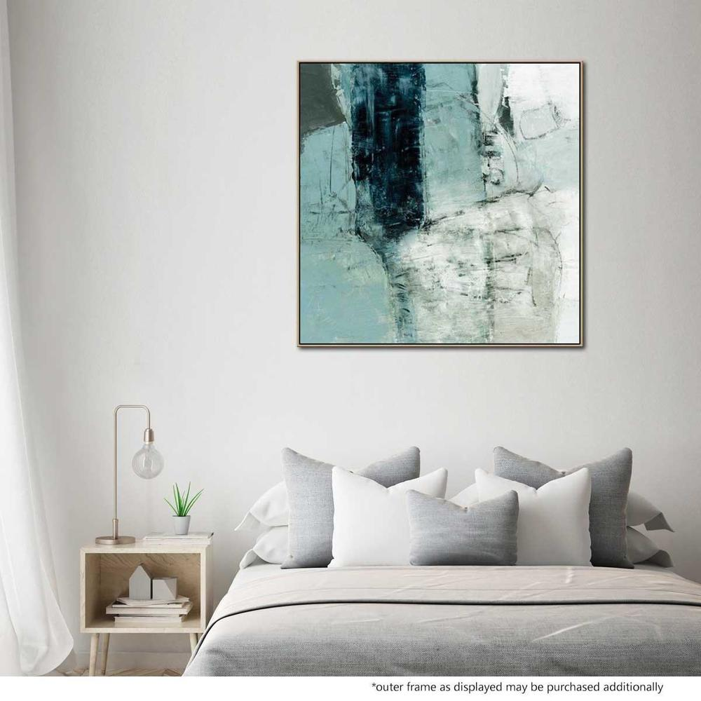 Amore Tristo Painted Canvas with Floating Frame