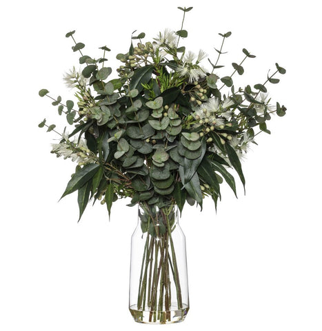 Australiana Mix in Audrey Vase White