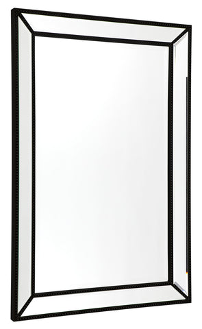Zeta Floor Mirror Black