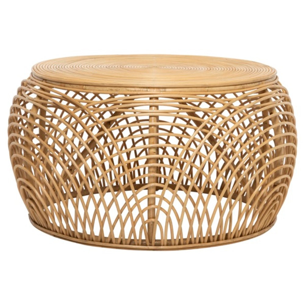 Brydie Rattan Coffee Table