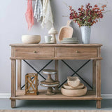 Harvest 2 Drawer Console