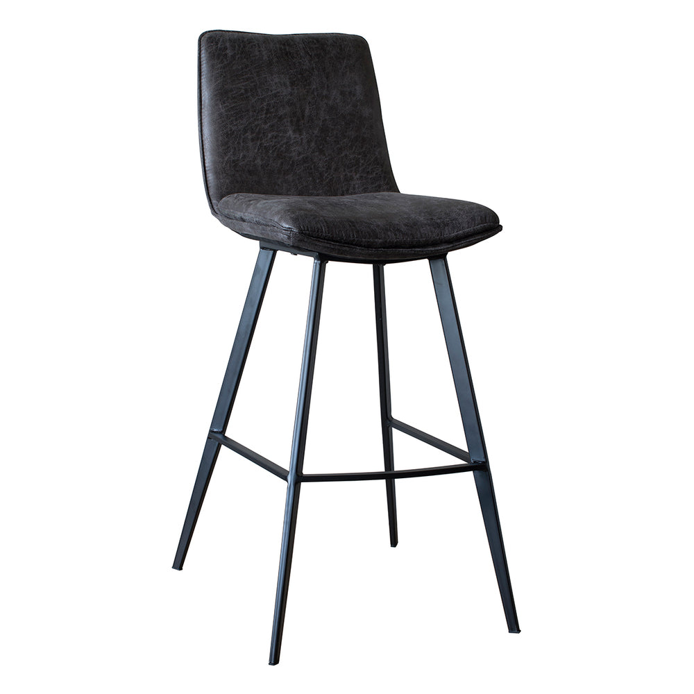 Cassie Bar Stool Grey 2/Pack