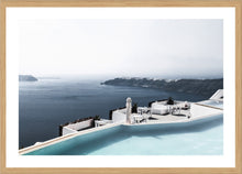 Hotel Pool Photographic Print with Frame