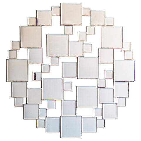 Tarifa Wall Mirror White