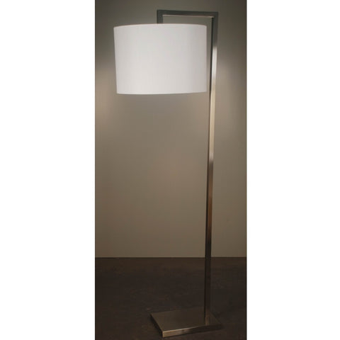 Tropez Floor Lamp Brushed Steel