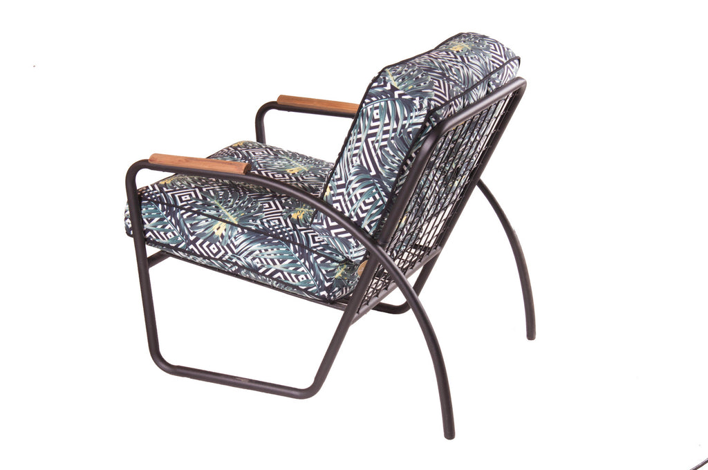 Canape Lounge Chair Palm Geo