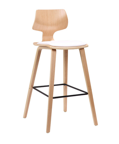 Hourglass Kitchen Stool