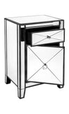 Apolo Bedside Table Black