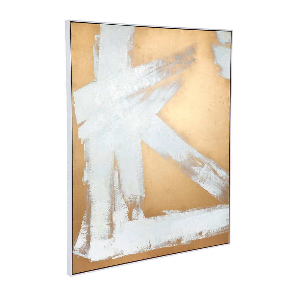 Midas Touch Framed Canvas