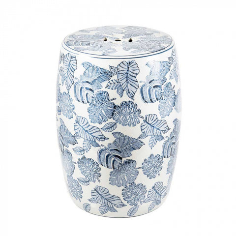 Tropica Ceramic Drum Stool
