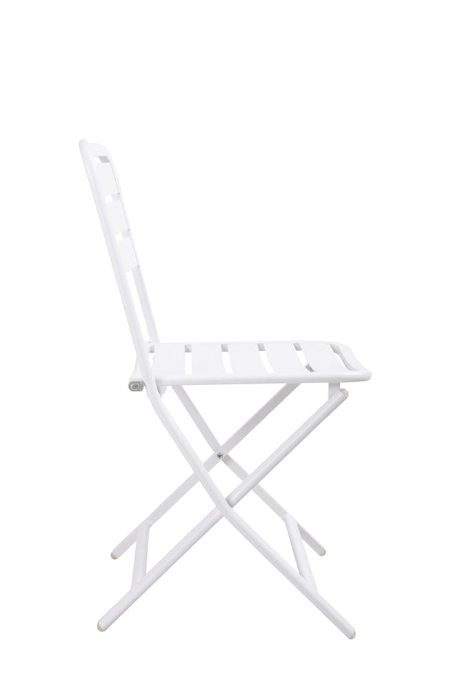 Halmstad Outdoor Folding Chair White