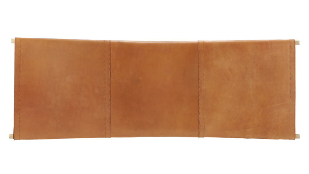 Nel Leather Bench