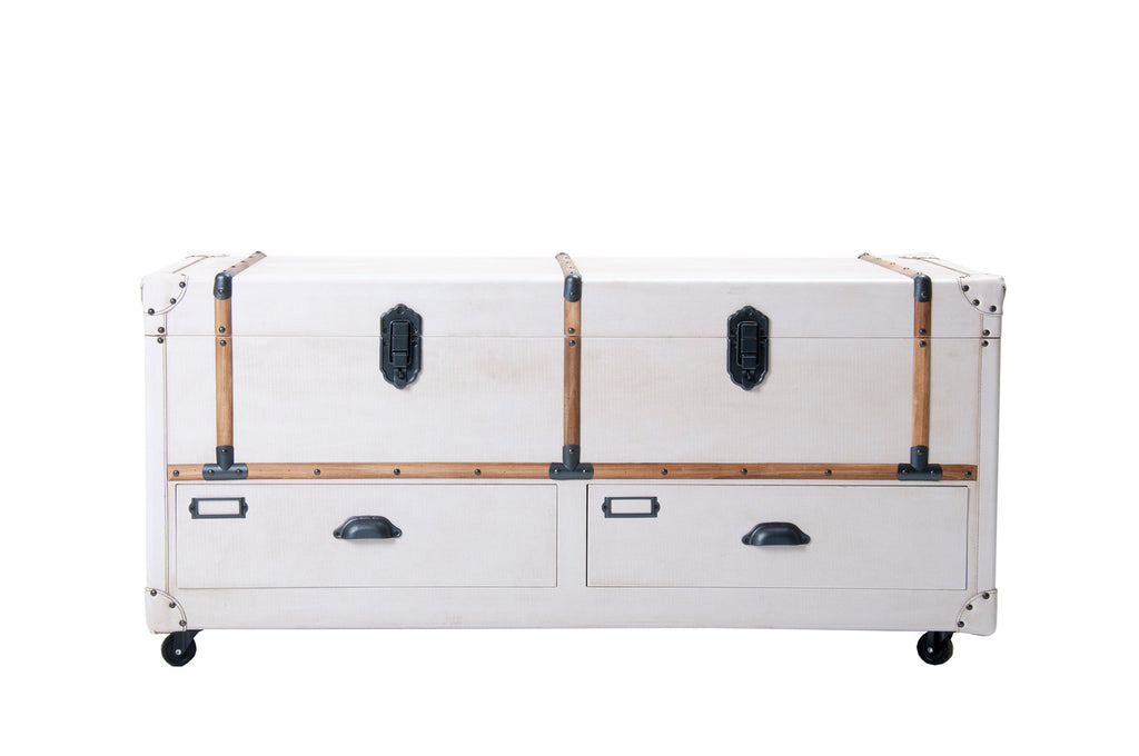 Two Tone Storage Trunk